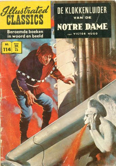 Cover for Illustrated Classics (Classics/Williams, 1956 series) #114 - De klokkenluider van de Notre Dame