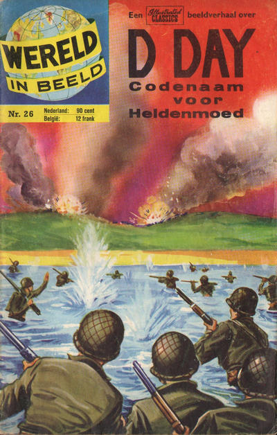 Cover for Wereld in beeld (Classics/Williams, 1960 series) #26 - D-Day