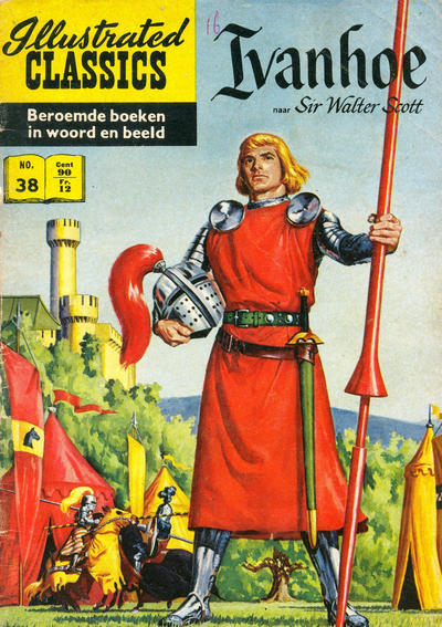 Cover for Illustrated Classics (Classics/Williams, 1956 series) #38 - Ivanhoe [HRN 155]