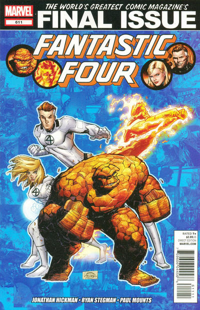 Cover for Fantastic Four (Marvel, 2012 series) #611 [Susan G. Komen]