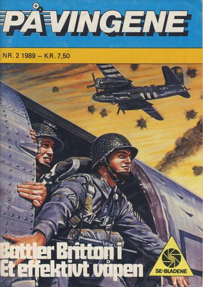 Cover for På Vingene (Serieforlaget / Se-Bladene / Stabenfeldt, 1963 series) #2/1989