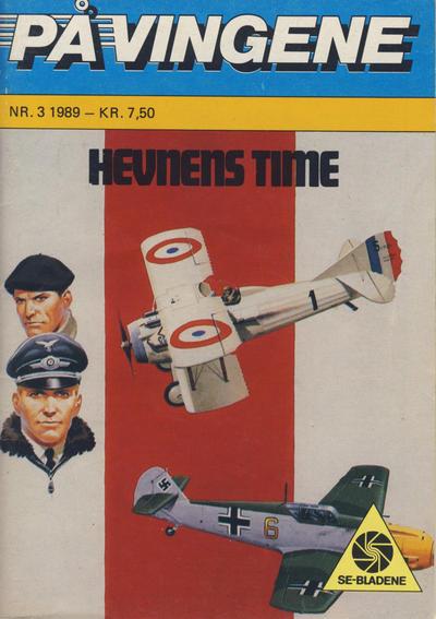 Cover for På Vingene (Serieforlaget / Se-Bladene / Stabenfeldt, 1963 series) #3/1989