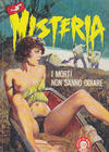 Cover for Misteria (Edifumetto, 1984 series) #1
