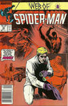 Cover Thumbnail for Web of Spider-Man (1985 series) #30 [Newsstand Edition]