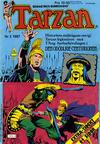 Cover for Tarzan (Atlantic Förlags AB, 1977 series) #2/1987