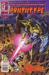 Cover for Prototype (Malibu, 1993 series) #4 [Newsstand]