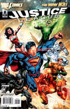 Cover for Justice League (DC, 2011 series) #2 [Ivan Reis / Andy Lanning Cover]