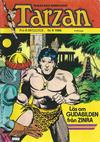 Cover for Tarzan (Atlantic Förlags AB, 1977 series) #9/1986