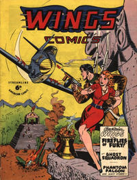 Cover Thumbnail for Wings Comics (Streamline, 1951 series) #[104]