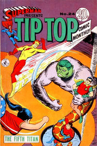Cover Thumbnail for Superman Presents Tip Top Comic Monthly (K. G. Murray, 1965 series) #24