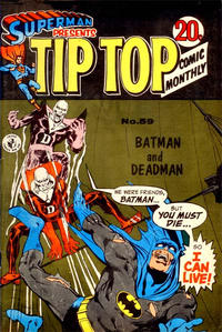 Cover Thumbnail for Superman Presents Tip Top Comic Monthly (K. G. Murray, 1965 series) #59