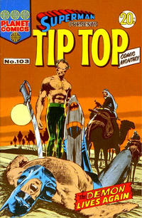 Cover Thumbnail for Superman Presents Tip Top Comic Monthly (K. G. Murray, 1965 series) #103
