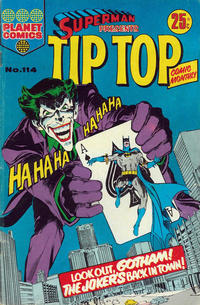Cover Thumbnail for Superman Presents Tip Top Comic Monthly (K. G. Murray, 1965 series) #114