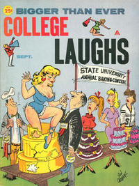 Cover Thumbnail for College Laughs (Candar, 1957 series) #33