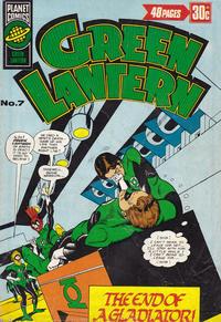 Cover Thumbnail for Green Lantern (K. G. Murray, 1975 series) #7