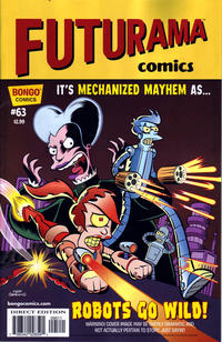 Cover Thumbnail for Bongo Comics Presents Futurama Comics (Bongo, 2000 series) #63