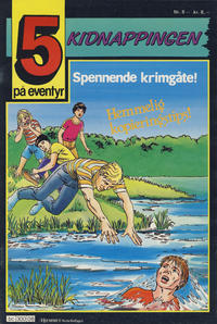 Cover Thumbnail for 5 på eventyr (Hjemmet / Egmont, 1986 series) #8