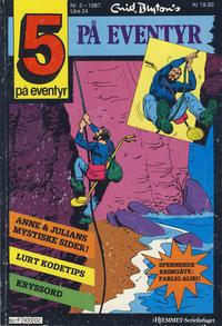 Cover Thumbnail for 5 på eventyr (Hjemmet / Egmont, 1986 series) #2/1987