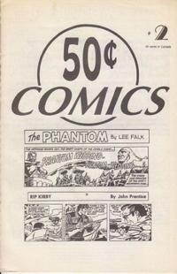 Cover Thumbnail for 50 Cent Comics (JAL Publications & Manuscript Press, 1994 series) #2