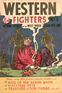Cover Thumbnail for Western Fighters (Horwitz, 1950 ? series) #3