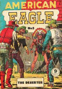 Cover Thumbnail for American Eagle (Atlas, 1950 ? series) #5