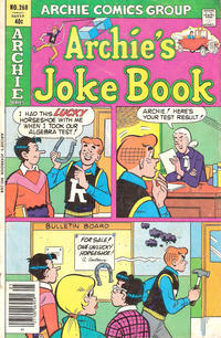 Cover Thumbnail for Archie's Joke Book Magazine (Archie, 1953 series) #268