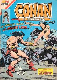 Cover Thumbnail for Conan el Bárbaro (Editorial Novaro, 1980 series) #35