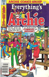 Cover Thumbnail for Everything's Archie (Archie, 1969 series) #92