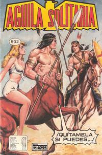 Cover Thumbnail for Aguila Solitaria (Editora Cinco, 1976 ? series) #502