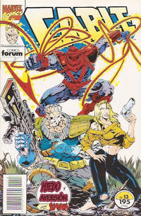 Cover Thumbnail for Cable (Planeta DeAgostini, 1994 series) #13