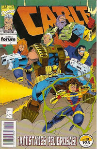 Cover Thumbnail for Cable (Planeta DeAgostini, 1994 series) #10