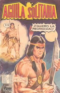 Cover Thumbnail for Aguila Solitaria (Editora Cinco, 1976 ? series) #516