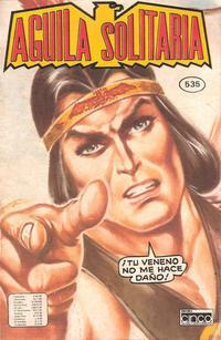 Cover Thumbnail for Aguila Solitaria (Editora Cinco, 1976 ? series) #535