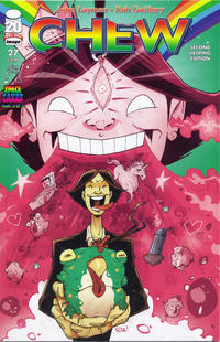 Cover Thumbnail for Chew (Image, 2009 series) #27, Second Helping Edition