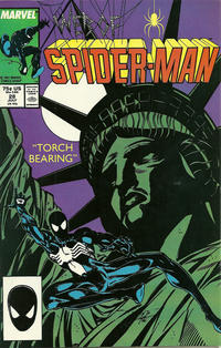 Cover Thumbnail for Web of Spider-Man (Marvel, 1985 series) #28 [Direct Edition]