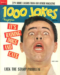 Cover Thumbnail for 1000 Jokes (Dell, 1939 series) #196 [106]