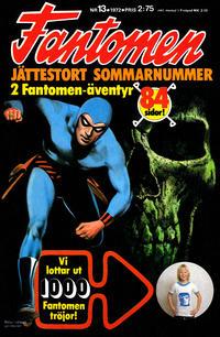 Cover Thumbnail for Fantomen (Semic, 1963 series) #13/1972