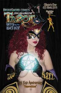 Cover Thumbnail for Tarot: Witch of the Black Rose (Broadsword, 2000 series) #25 [Cover C]