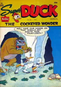 Cover Thumbnail for Super Duck Comics (Bell Features, 1948 series) #23