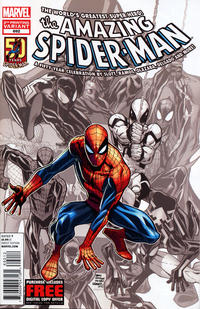 Cover Thumbnail for The Amazing Spider-Man (Marvel, 1999 series) #692 [2nd Printing Variant Cover]