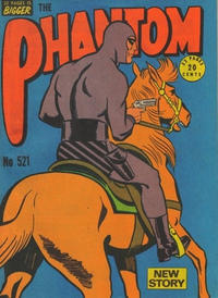 Cover Thumbnail for The Phantom (Frew Publications, 1948 series) #521
