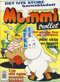 Cover Thumbnail for Mummitrollet (Semic, 1993 series) #2/1993