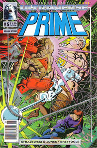 Cover Thumbnail for Prime (Malibu, 1993 series) #5 [Newsstand]