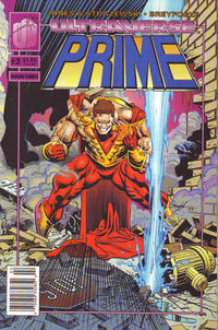 Cover Thumbnail for Prime (Malibu, 1993 series) #2 [Newsstand]