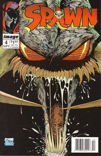 Cover Thumbnail for Spawn (Image, 1992 series) #4 [Newsstand]