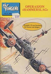 Cover Thumbnail for På Vingene (Serieforlaget / Se-Bladene / Stabenfeldt, 1963 series) #11/1975