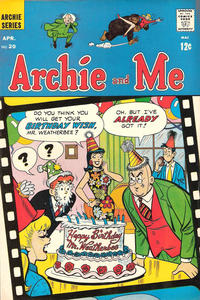 Cover Thumbnail for Archie and Me (Archie, 1964 series) #20