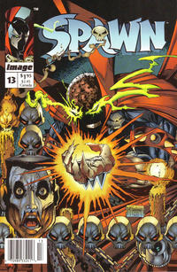 Cover Thumbnail for Spawn (Image, 1992 series) #13 [Newsstand]