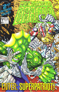 Cover Thumbnail for The Savage Dragon (Image, 1992 series) #2 [Direct]