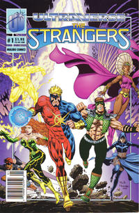 Cover for The Strangers (Malibu, 1993 series) #1 [Direct]